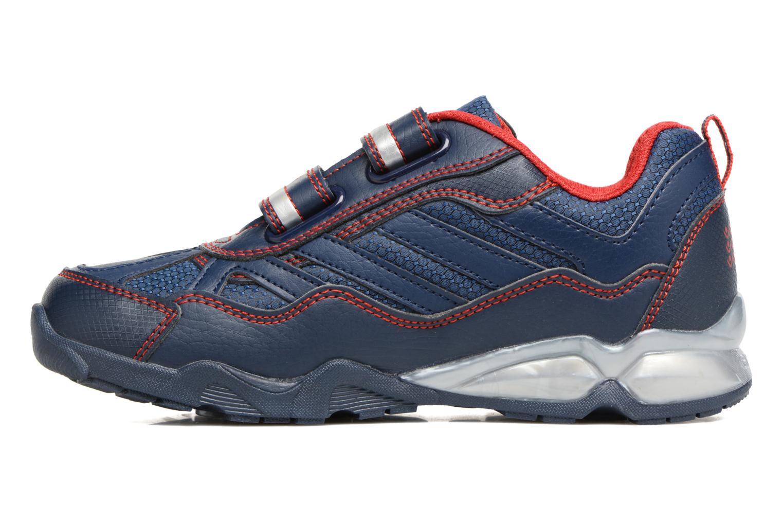 Sneakers Geox J Light Eclipse 2 BO J64BC Azzurro immagine frontale