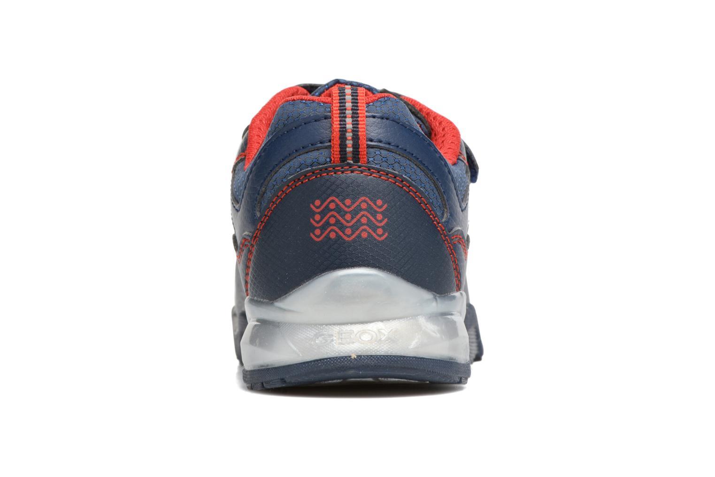 Sneakers Geox J Light Eclipse 2 BO J64BC Azzurro immagine destra