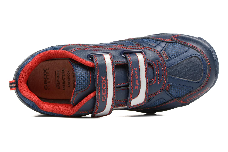 Sneakers Geox J Light Eclipse 2 BO J64BC Azzurro immagine sinistra