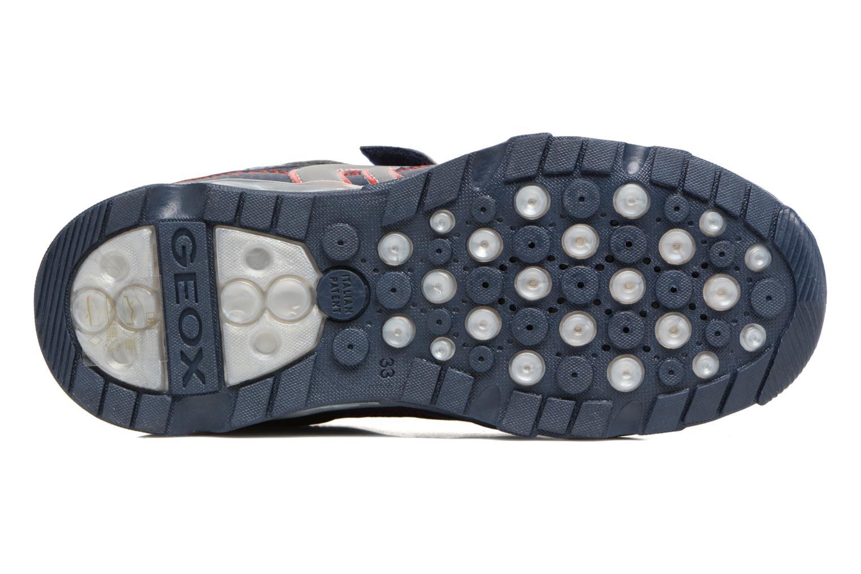 Sneakers Geox J Light Eclipse 2 BO J64BC Azzurro immagine dall'alto