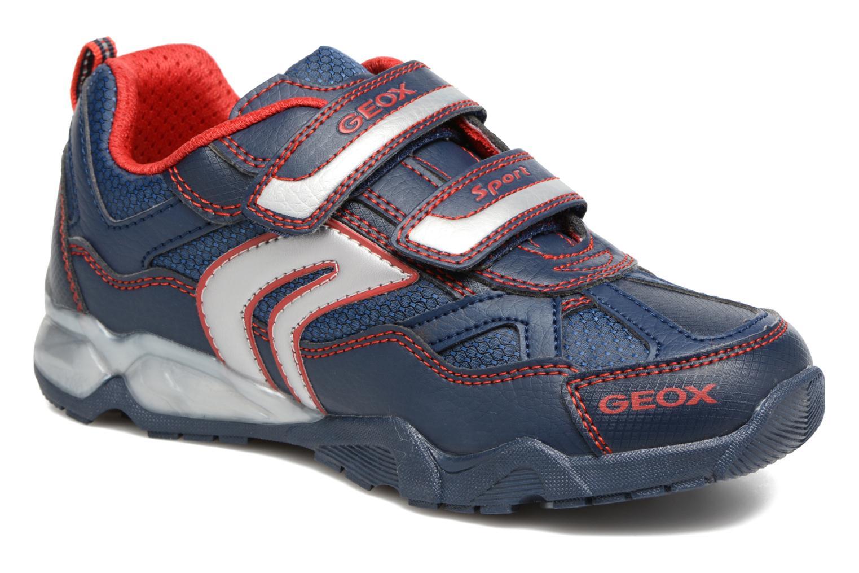 Sneakers Geox J Light Eclipse 2 BO J64BC Azzurro vedi dettaglio/paio