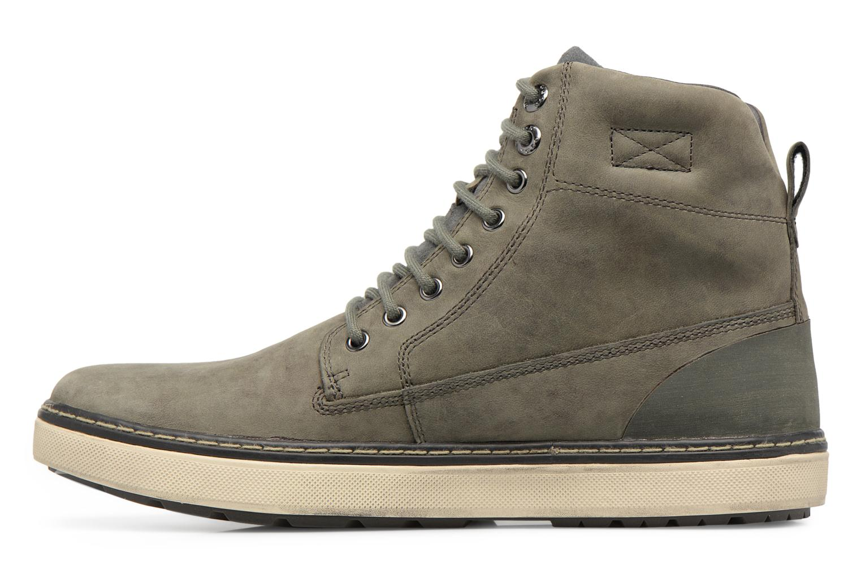 Sneakers Geox U Mattias B ABX U44T1C Grigio immagine frontale