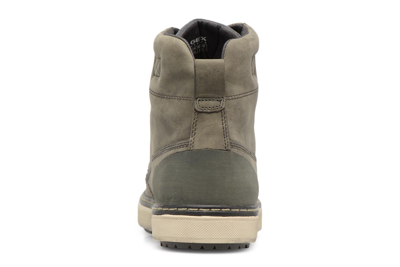 Sneakers Geox U Mattias B ABX U44T1C Grigio immagine destra