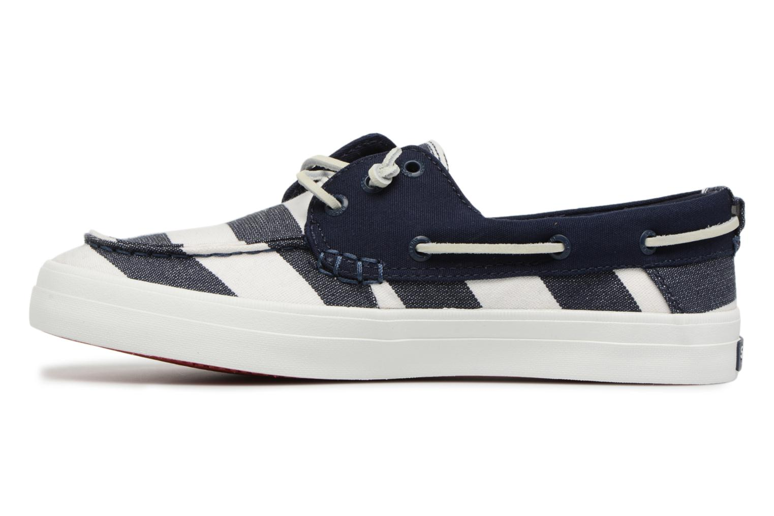 Resort Navy Crest white Breton Sperry Stripe 8qU0wna