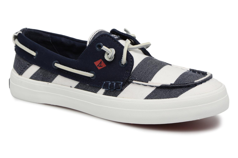 Zapatos promocionales Sperry Crest Resort Breton Stripe (Azul) - Zapatos con cordones   Cómodo y bien parecido