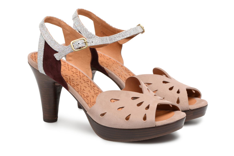 Sandals Chie Mihara Loha32 Beige 3/4 view