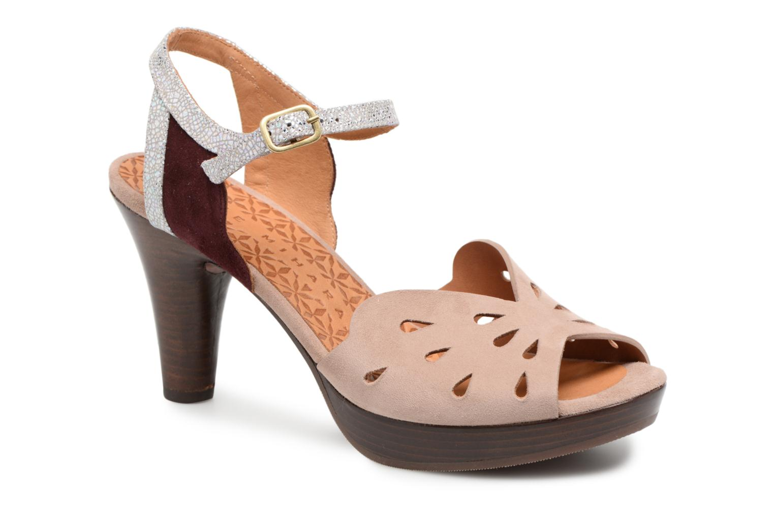 Sandals Chie Mihara Loha32 Beige detailed view/ Pair view