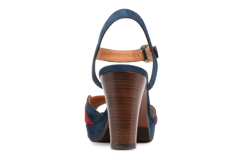 Sandales et nu-pieds Chie Mihara Edita Bleu vue droite