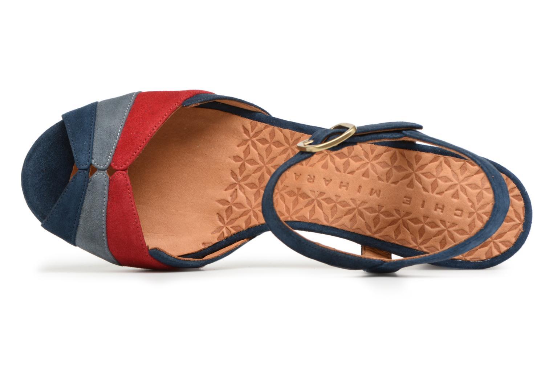 Sandales et nu-pieds Chie Mihara Edita Bleu vue gauche