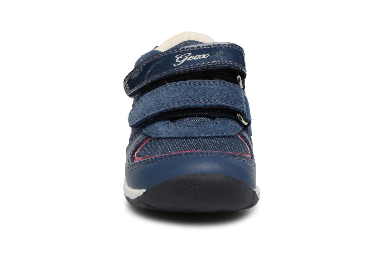 Bottines et boots Geox B EACH G.E B820AE Bleu vue portées chaussures