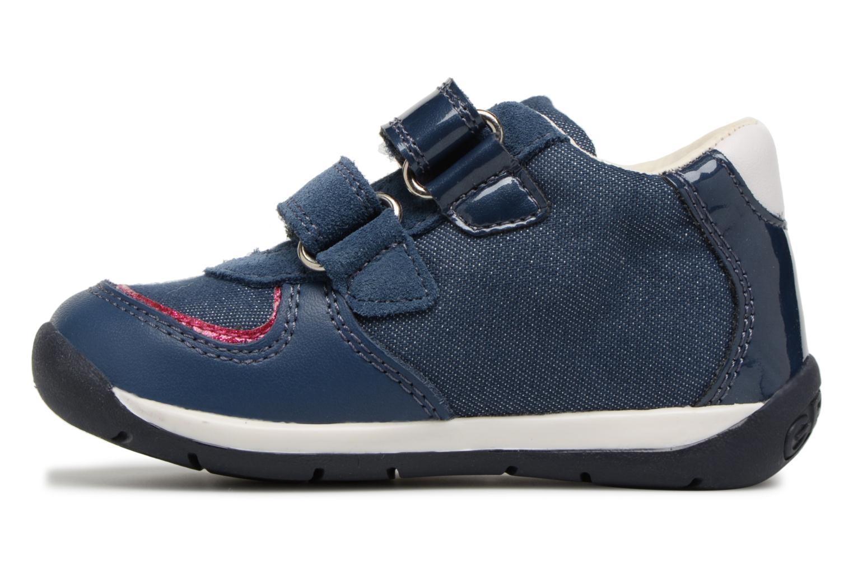 Bottines et boots Geox B EACH G.E B820AE Bleu vue face