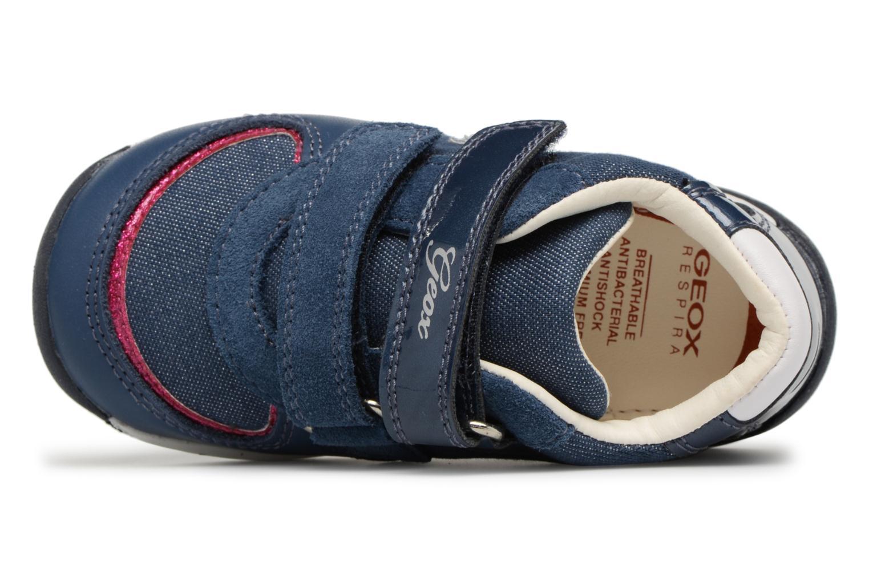 Bottines et boots Geox B EACH G.E B820AE Bleu vue gauche