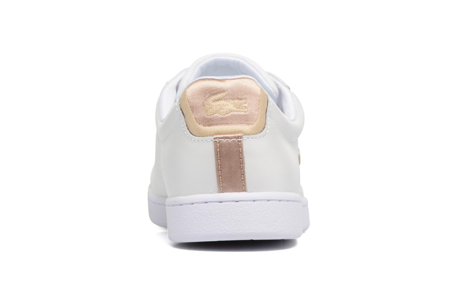 Baskets Lacoste CARNABY EVO 118 6 Blanc vue droite