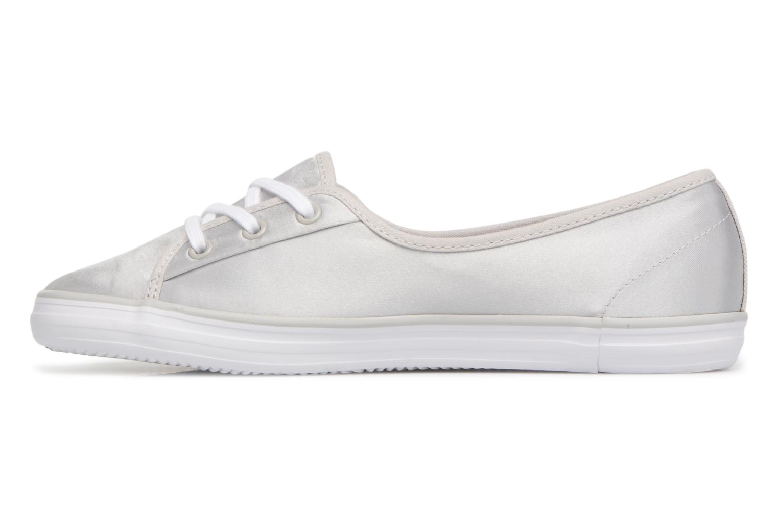 Baskets Lacoste ZIANE CHUNKY 118 2 Gris vue face