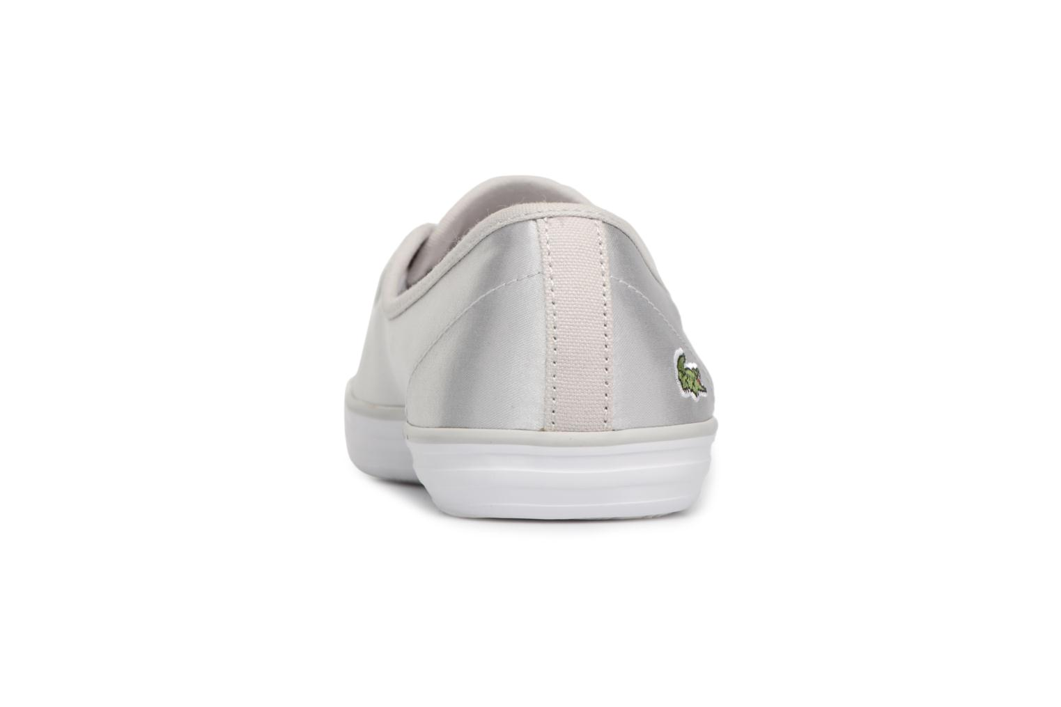Baskets Lacoste ZIANE CHUNKY 118 2 Gris vue droite
