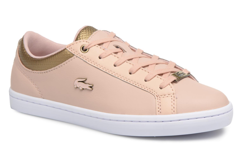 Los últimos zapatos de hombre y mujer Lacoste STRAIGHTSET 118 1 (Rosa) - Deportivas en Más cómodo