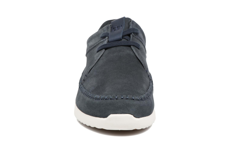 Baskets Clarks Originals Tor Track Bleu vue portées chaussures