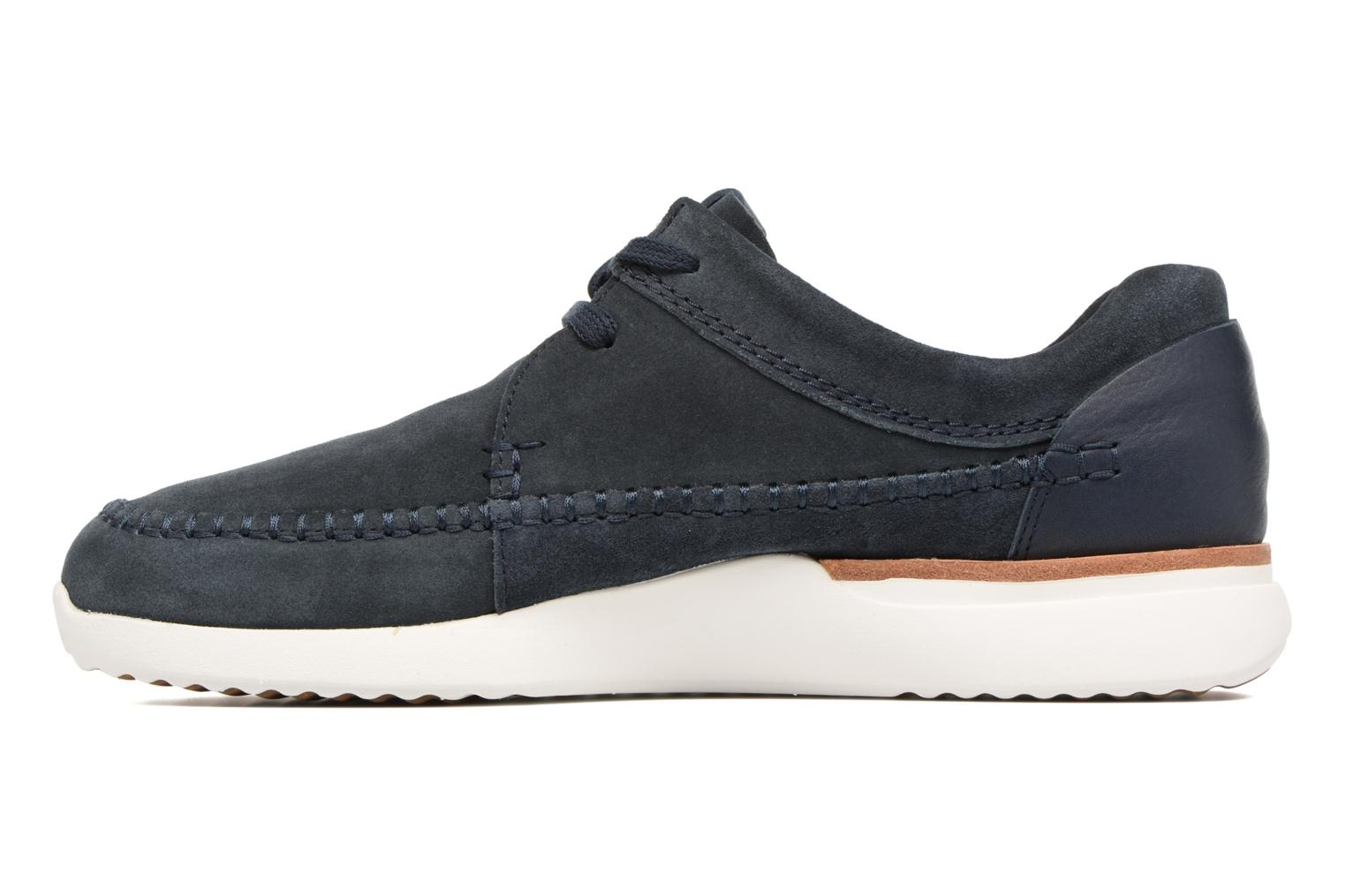 Baskets Clarks Originals Tor Track Bleu vue face
