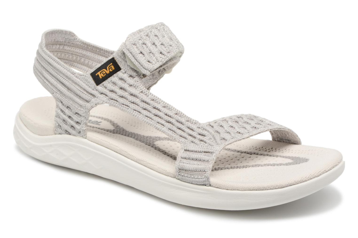 Sport shoes Teva Terra-Float 2 Knit Universal W White detailed view/ Pair  view