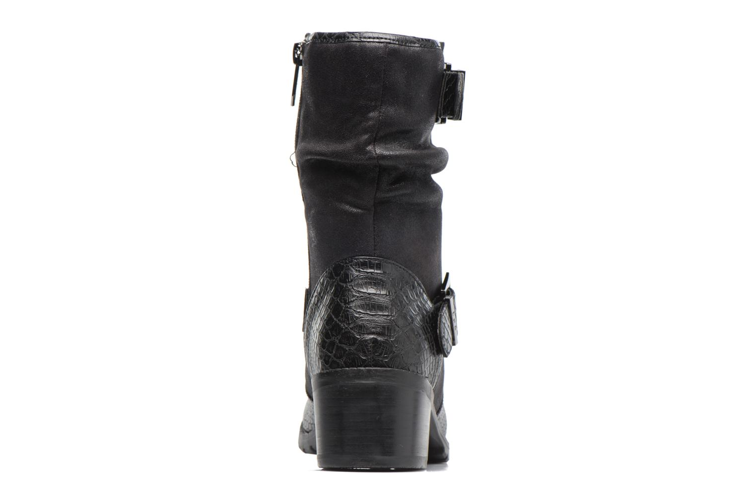 Ankle boots Les P'tites Bombes ELINA 4 Black view from the right