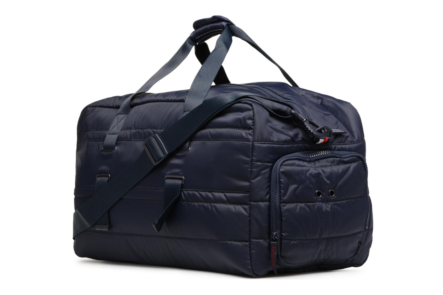 Light Nylon Duffle Tommy Navy