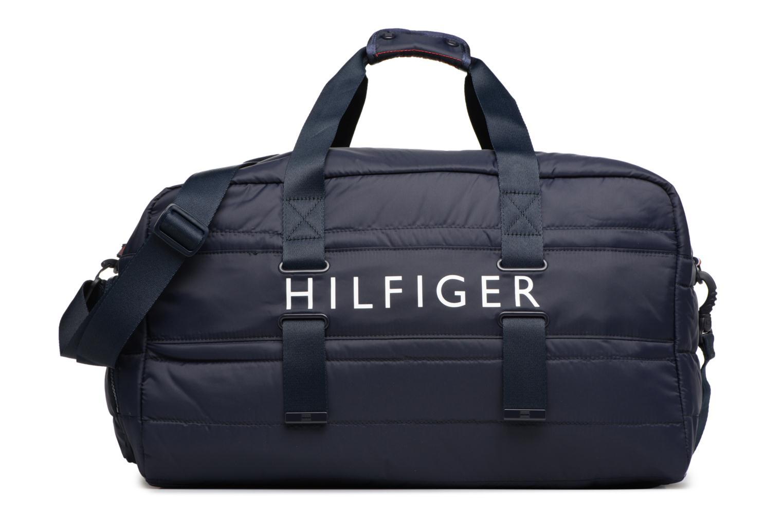 Sporttassen Tommy Hilfiger Light Nylon Duffle Blauw detail