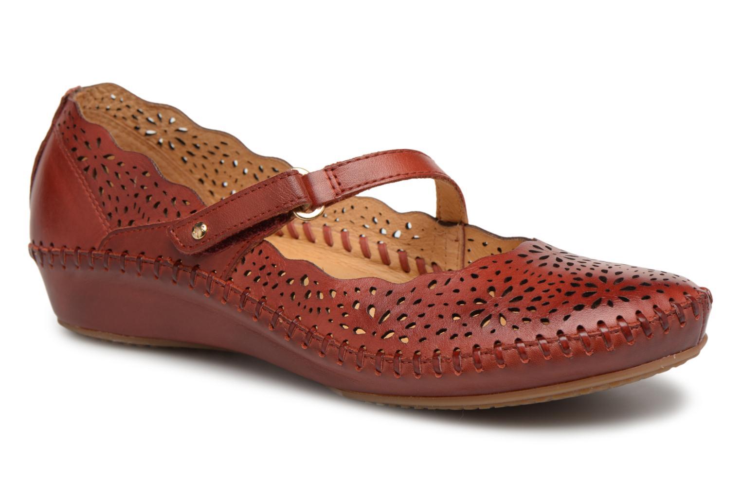Zapatos de hombres y mujeres de moda casual Pikolinos P. VALLARTA 655 / 1573 sandia (Rojo) - Bailarinas en Más cómodo