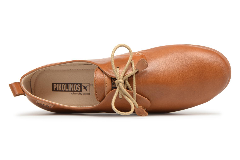 Chaussures à lacets Pikolinos CALABRIA W9K / 4623 brandy Marron vue gauche