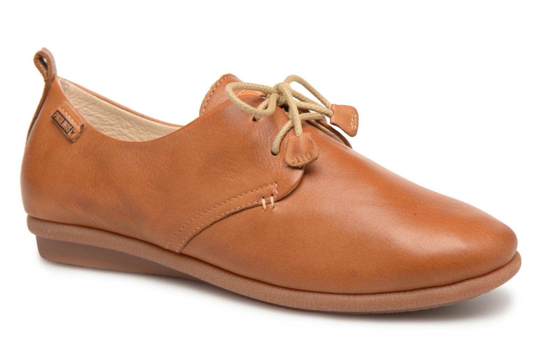 Chaussures à lacets Pikolinos CALABRIA W9K / 4623 brandy Marron vue détail/paire