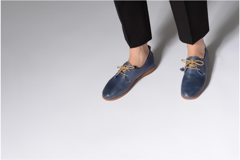 Chaussures à lacets Pikolinos CALABRIA W9K / 4623 nautic Bleu vue bas / vue portée sac