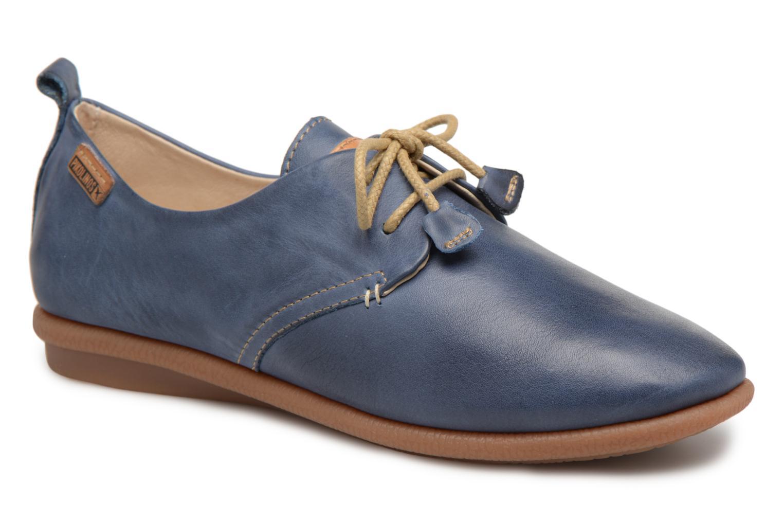 Chaussures à lacets Pikolinos CALABRIA W9K / 4623 nautic Bleu vue détail/paire