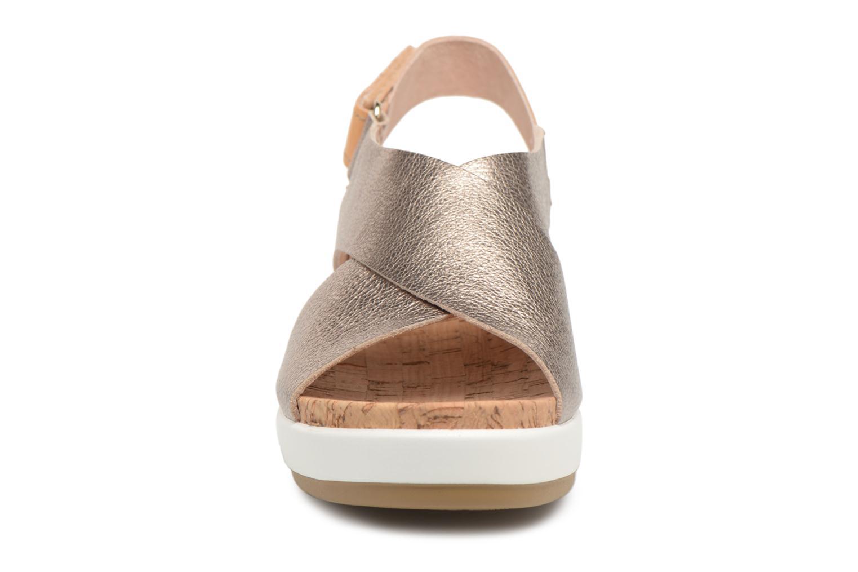 Sandales et nu-pieds Pikolinos MYKONOS W1G / 0757CL stone Argent vue portées chaussures