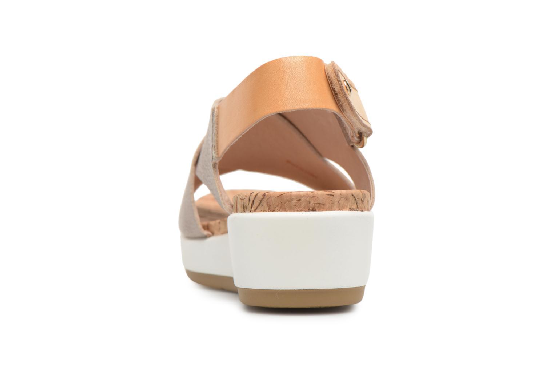 Sandales et nu-pieds Pikolinos MYKONOS W1G / 0757CL stone Argent vue droite