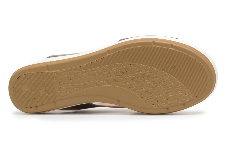 Sandales et nu-pieds Pikolinos MYKONOS W1G / 0757CL stone Argent vue haut