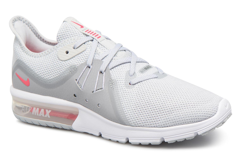 Chaussures de sport Nike Wmns Nike Air Max Sequent 3 Gris vue détail/paire