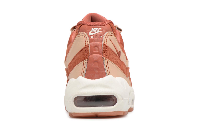 Baskets Nike Wmns Air Max 95 Lx Orange vue droite