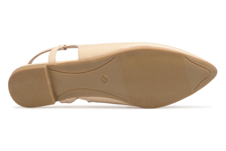 Ballerines I Love Shoes Belona Beige vue haut