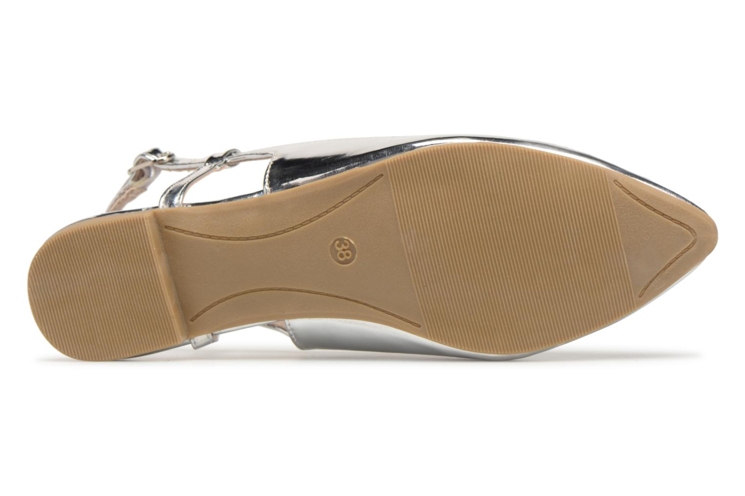 Ballet pumps I Love Shoes Belona Silver view from above