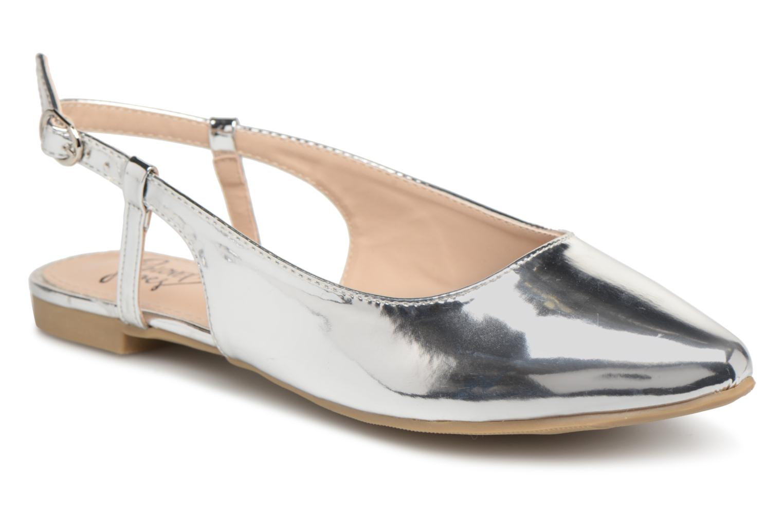 Ballet pumps I Love Shoes Belona Silver detailed view/ Pair view