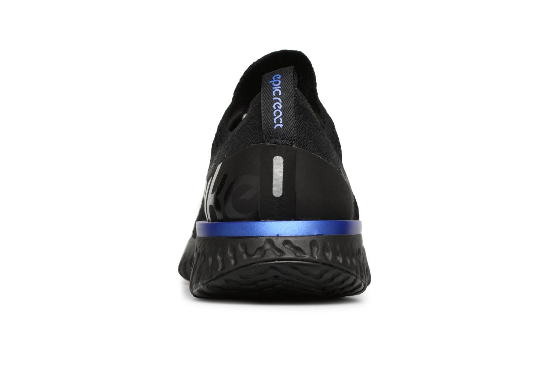 Chaussures de sport Nike Wmns Nike Epic React Flyknit Noir vue droite
