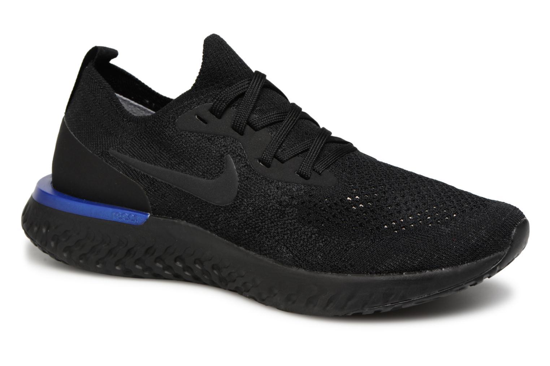 Chaussures de sport Nike Wmns Nike Epic React Flyknit Noir vue détail/paire