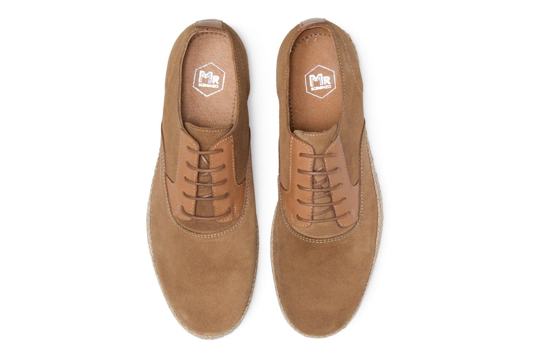 Chaussures à lacets Mr SARENZA Scorda Marron vue portées chaussures
