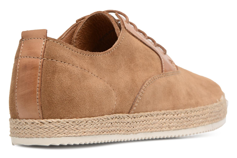 Chaussures à lacets Mr SARENZA Scorda Marron vue face
