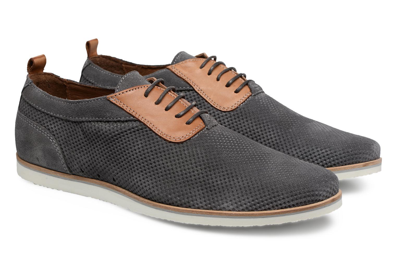 Chaussures à lacets Mr SARENZA Surtop Gris vue derrière