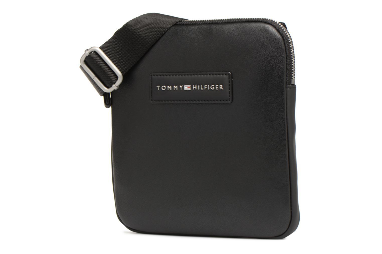 Herrentaschen Tommy Hilfiger TH CITY MINI CROSSOVER schwarz schuhe getragen