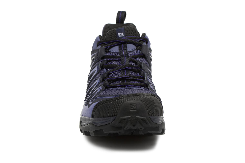 Chaussures de sport Salomon X Ultra 3 Prime W Bleu vue portées chaussures