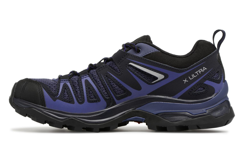 Chaussures de sport Salomon X Ultra 3 Prime W Bleu vue face