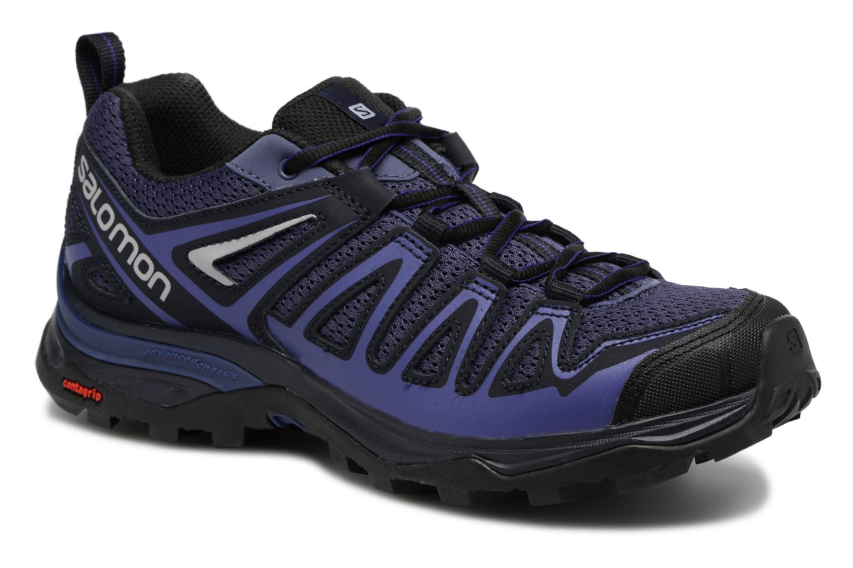 Chaussures de sport Salomon X Ultra 3 Prime W Bleu vue détail/paire