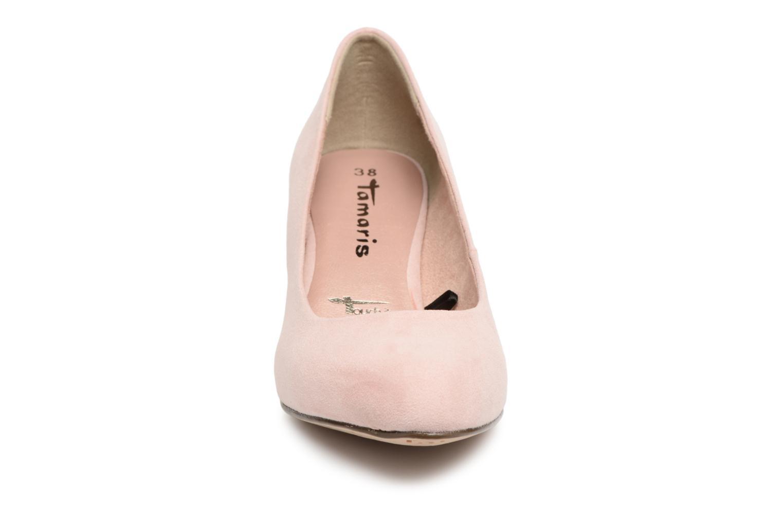 Escarpins Tamaris Origan Rose vue portées chaussures