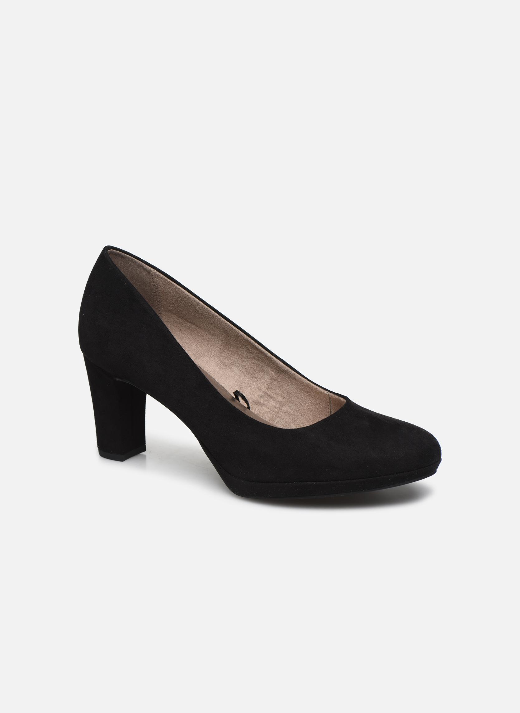 Grandes descuentos últimos zapatos Tamaris Curcuma (Negro) - Zapatos de tacón Descuento